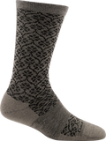 Darn Tough Trellis Light Cushion Socks - Women's Taupe Small