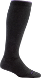Darn Tough Merino Wool Solid Knee High Sock - Women's Black Small