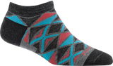 Darn Tough EL Sarape No Show Light Sock - Women's Gray Small
