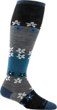 Darn Tough Flowers Knee High Light Sock - Women's Gray Small