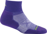 Darn Tough Coolmax Vertex 1/4 Ultralight Sock - Women's Deep Purple Small
