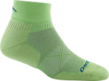 Darn Tough Vermont Men's Coolmax Vertex 1/4 Sock Ultra-Light Cushion, Jasmine Green, X-Large