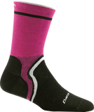 Darn Tough Cool Curves Micro Crew Ultralight Sock - Women's Pink Small