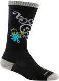 Darn Tough BA Betty Crew Ultra Light Cushion Sock - Women's Black Small