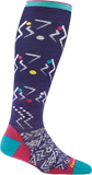 Darn Tough Vertex Over the Calf Ultra Light Sock - Women's Purple Medium