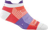 Darn Tough Pulse No Show Tab Light Cushion Sock - Women's Coral Small