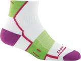 Darn Tough BPM 1/4 Light Cushion Sock - Women's White Small