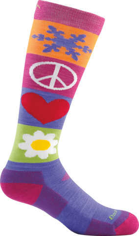 Darn Tough Peace Jr. Ski UL Sock - Kid's