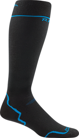 Darn Tough RFL Thermolite Ultra-Light Socks - Men's Black/Blue X-Large