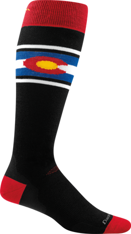 Darn Tough Colorado Light Socks - Men's Black X-Large
