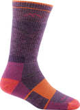 Darn Tough Hiker Boot Full Cushion Socks - Women's Plum Heather Small