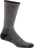 Darn Tough Coolmax Boot Cushion Socks - Men's Gray/Black X-Large