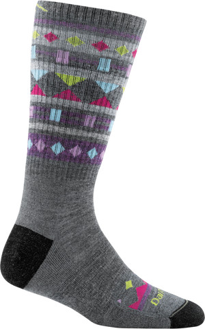 Darn Tough Trail Magic Boot Cushion Sock - Women's Gray Small