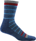 Darn Tough Via Ferratta Micro Crew Cushion Sock - Men's Blue X-Large