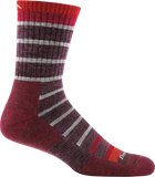 Darn Tough Via Ferratta Micro Crew Cushion Sock - Men's Maroon X-Large