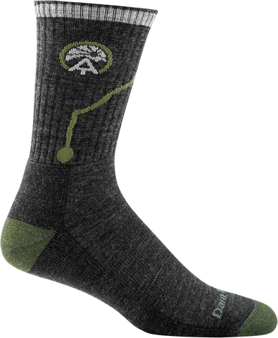 Darn Tough ATC Micro Crew Cushion Sock - Men's Charcoal X-Large