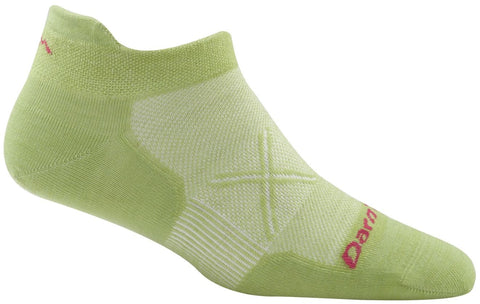Darn Tough Vermont Women's Vertex Tab No Show Ultra-Light Cushion, Green, Small