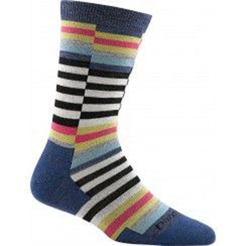 Darn Tough Women's Offset Stripe Light Sock 1626 - Dearborn Supply
