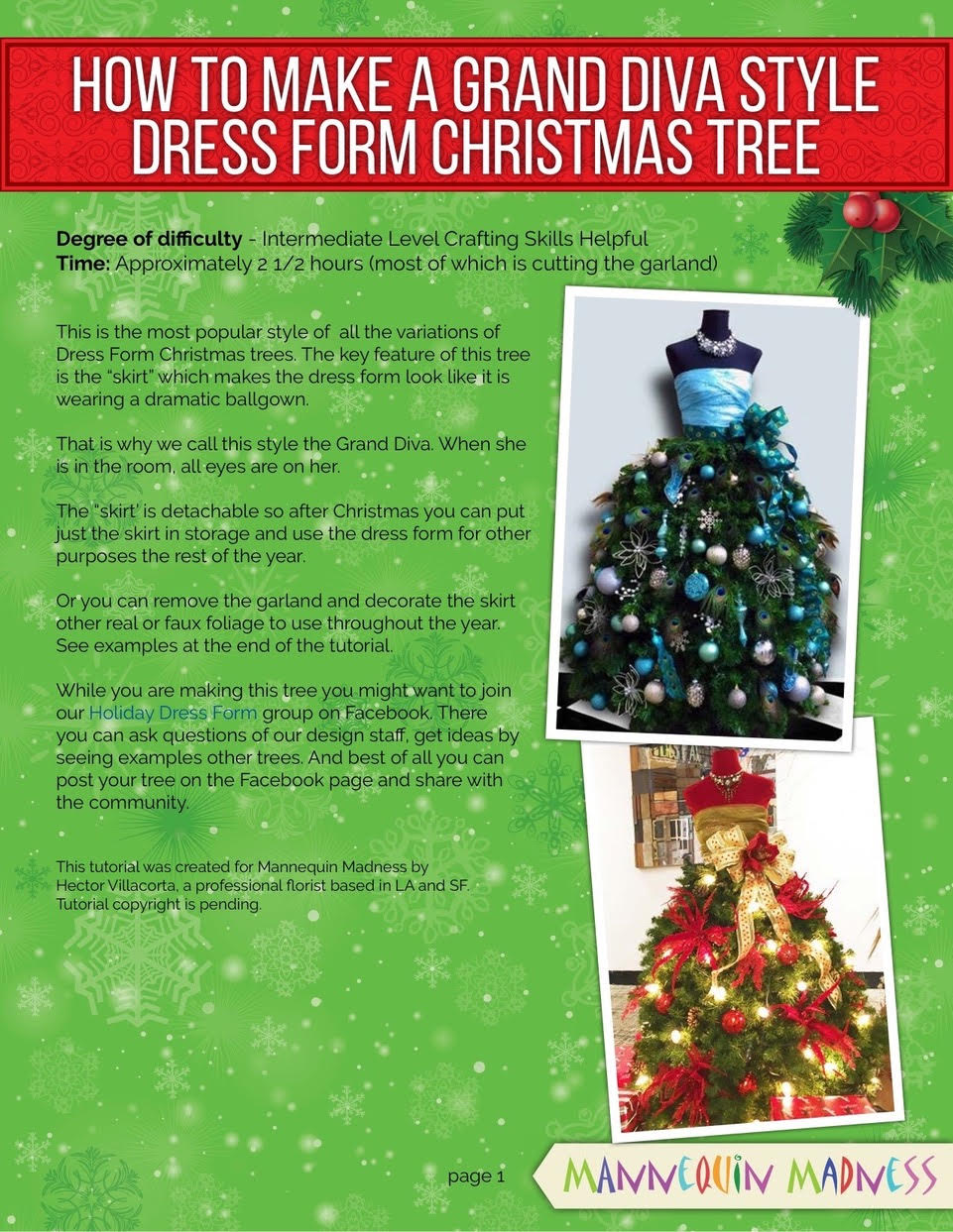 886454f764ea For the crafty person who wants to make their own tree we have tutorials  with step by step instructions so you can get the exact look you want.