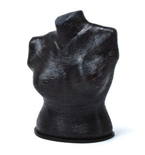 "10"" Organic Eco-Friendly Torso Form: Various Textures & Colors"