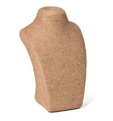 Natural Fiber Bust Form #2 -- 10