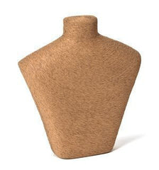 Natural Fiber Bust Form #1 -- 10