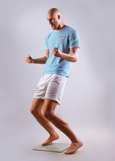 Male Mannequin in Soccer Pose