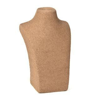 Organic Eco-Friendly Natural Fiber Bust Form 12""