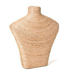 Natural Fiber Bust Form #1 -- 12