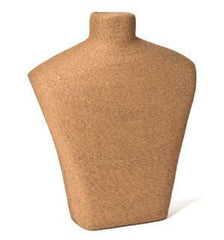 Natural Fiber Bust Form #1 -- 15