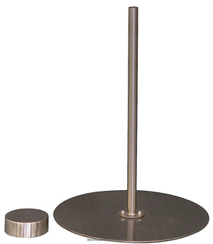 Metal Dress Form Table Top Stand: Round Metal Base
