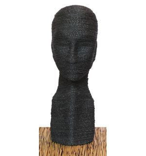 "21"" Organic Eco-Friendly Head Form: Various Natural Fibers"