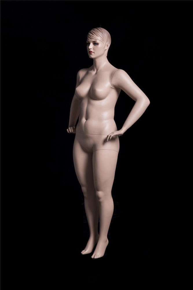 Arlena 2: Plus Size Female Mannequin