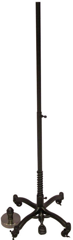 Dress Form Stand & Neck Cap - Black Wheeled Base