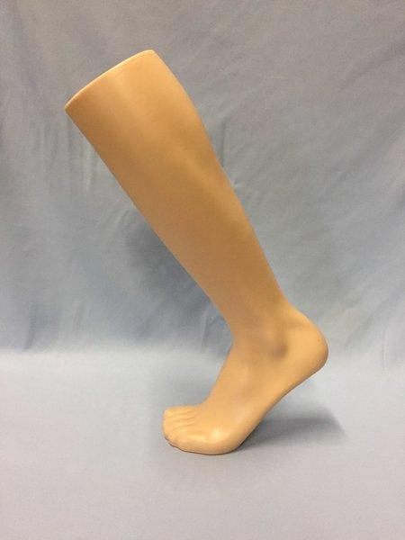 "18"" Athletic Male Leg Form Knee High: Tan"