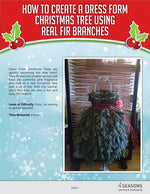 eBook Tutorial: Dress Form Christmas Tree - Traditional Style