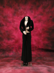 Female Dress Form with Bendable Arms -- Black