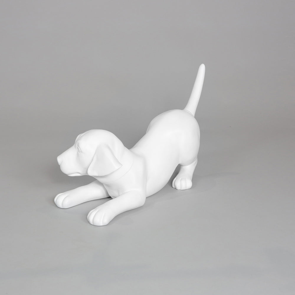 Labrador Puppy Dog Mannequin: Playing