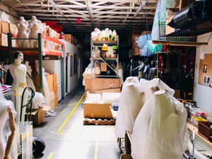 Mannequin Warehouse Rental