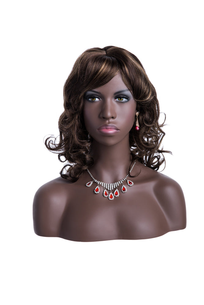 Tamron: African-American Female Head with Partial Chest