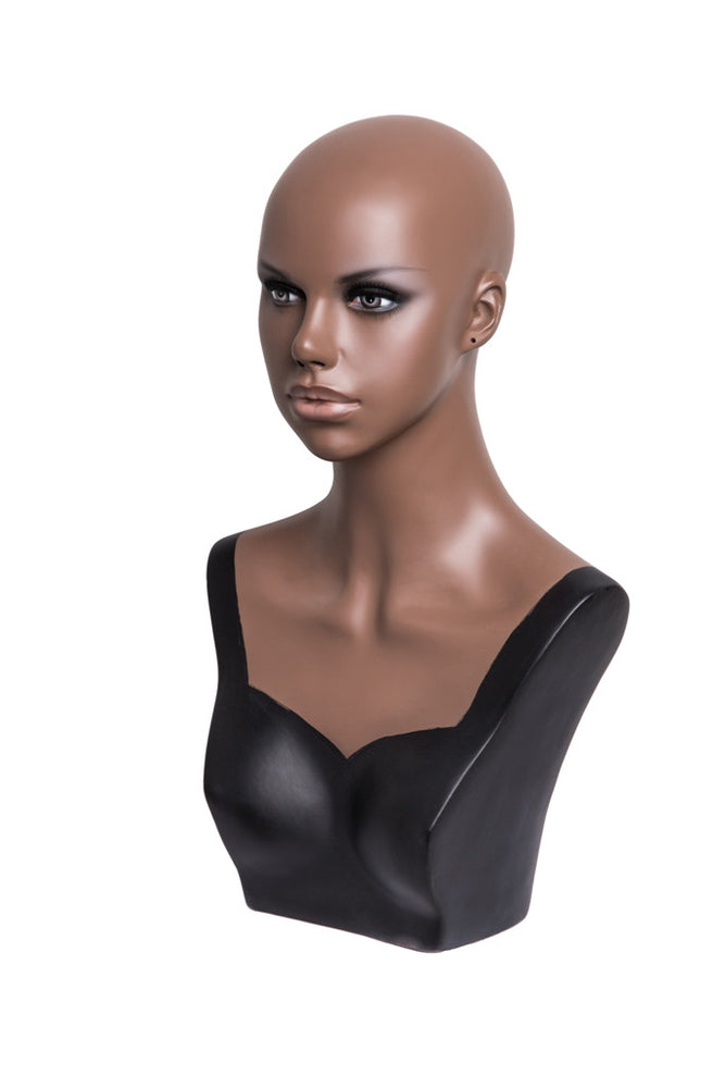 Tyra: African-American Female Head with Partial Chest