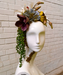 DIY Tutorial: Floral & Succulent Centerpiece with Mannequin Heads
