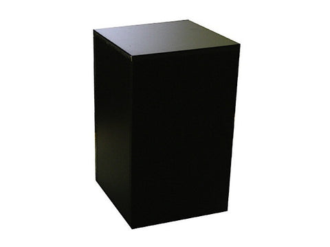 Wood Pedestal in 3 Color Choices  -- Medium