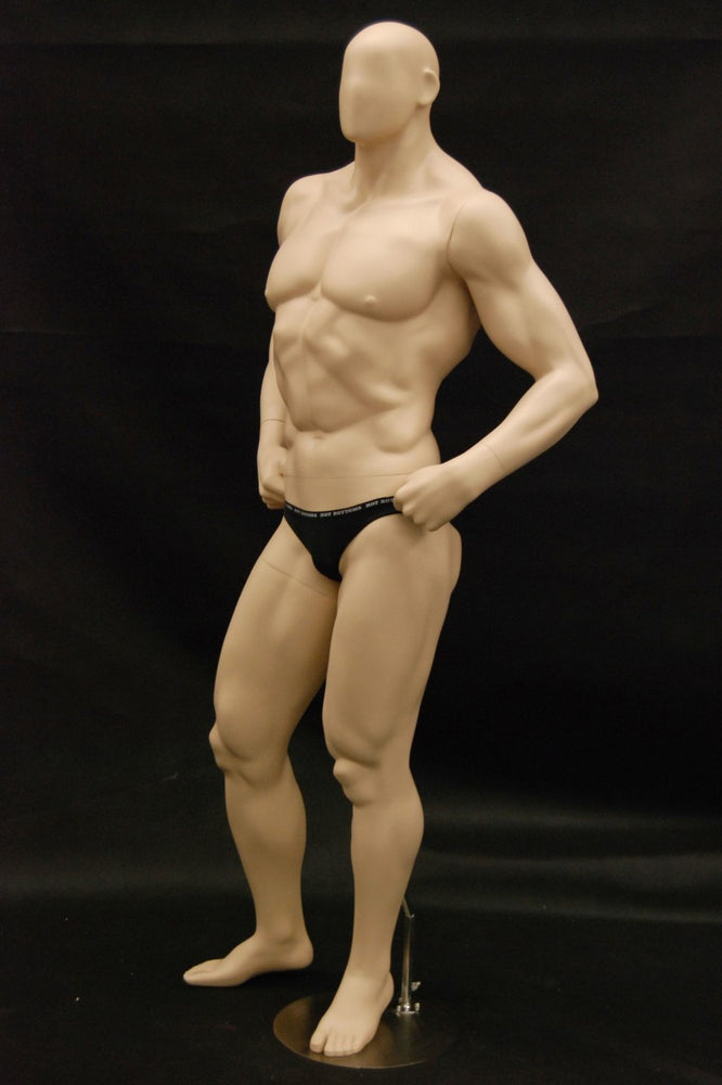 Muscle Man Mannequin: Assorted Colors