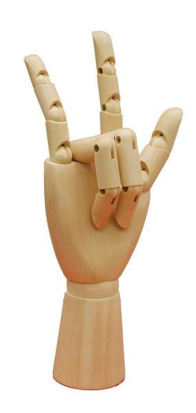 Articulated Wooden Female Hand