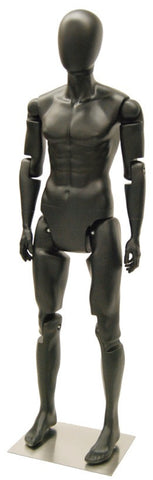 Articulated Male Mannequin -- Black