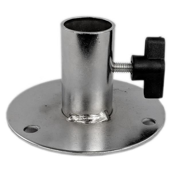 Pole Connector Metal Flange Plate for Dress Forms (excludes pole)