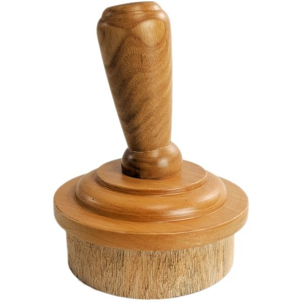 Neck Cap: Wood with Slanted Finial