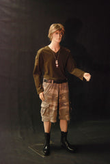 Rugged Male Mannequin with Bendable Arm -- SHORT