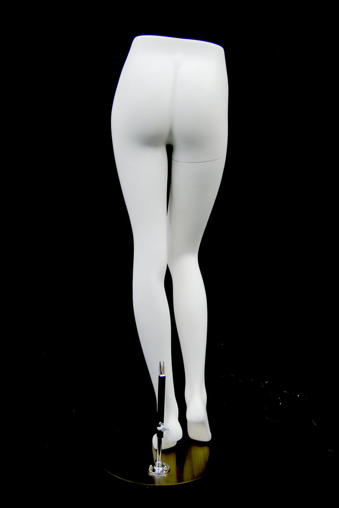 Female Pant Leg Form: Semi-Matte Black or Matte White